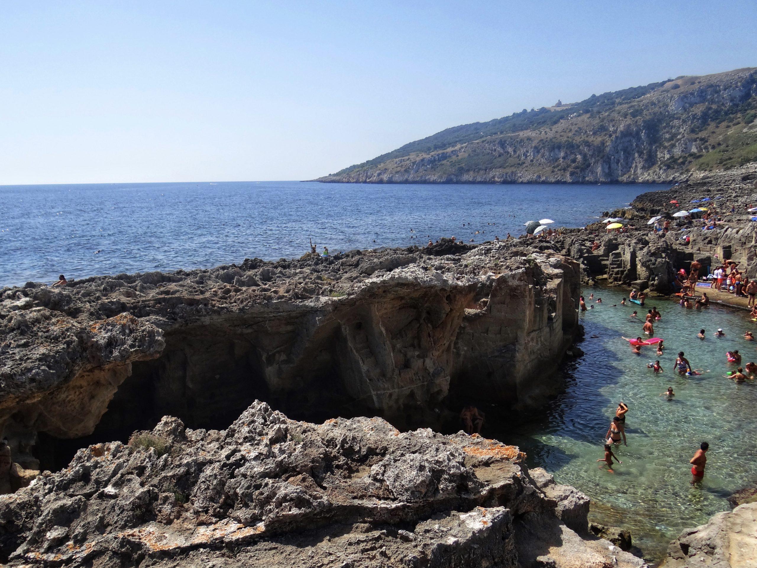 Wild and savage Puglia - porto selvaggio is set in a nature reserve near Gallipoli.
