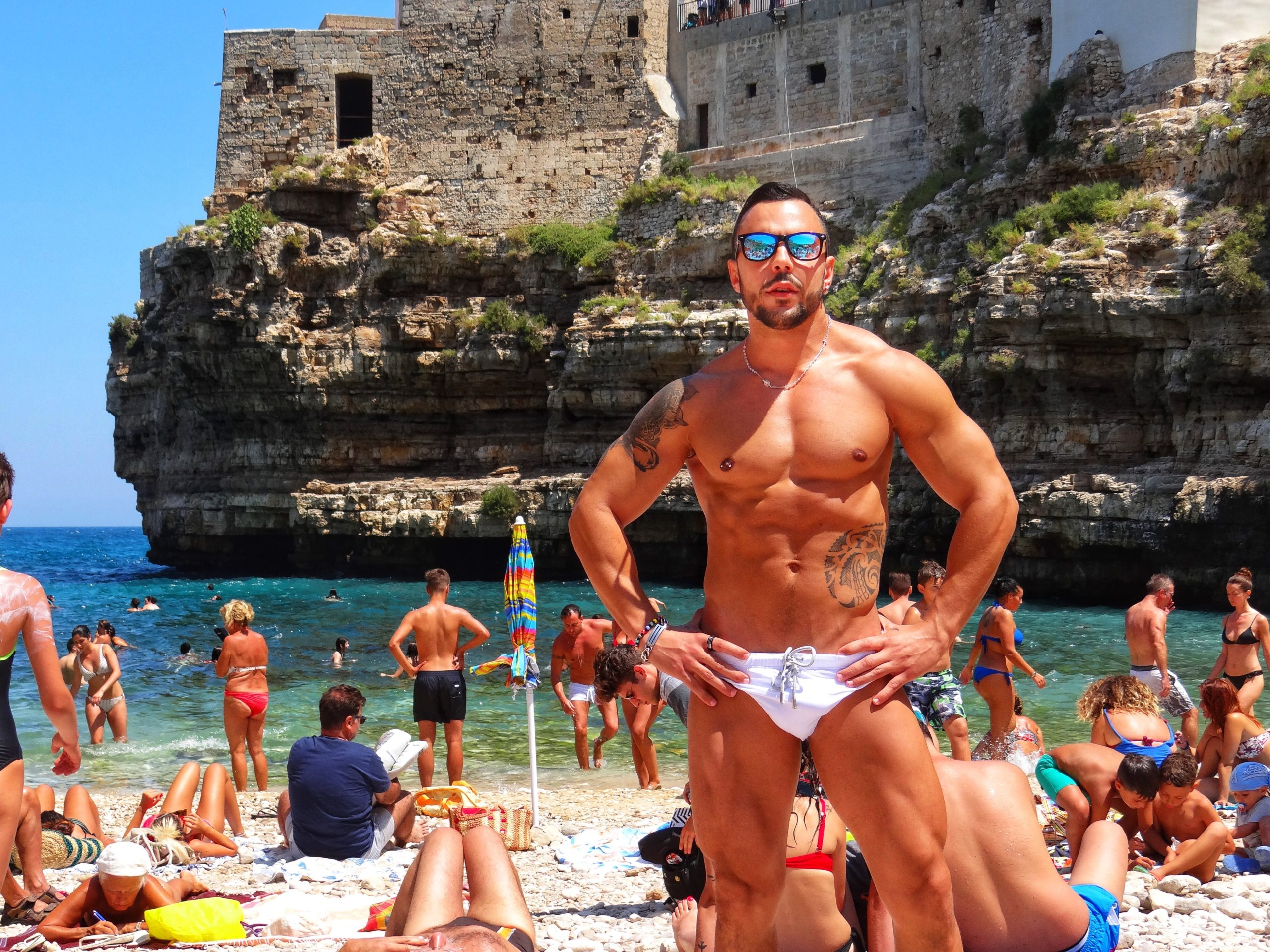 Gay Puglia - the Big Gay Podcast from Puglia. Serving up Puglia's finest food and destination recommendations. Italy's best naturist and gay beaches are in Puglia.