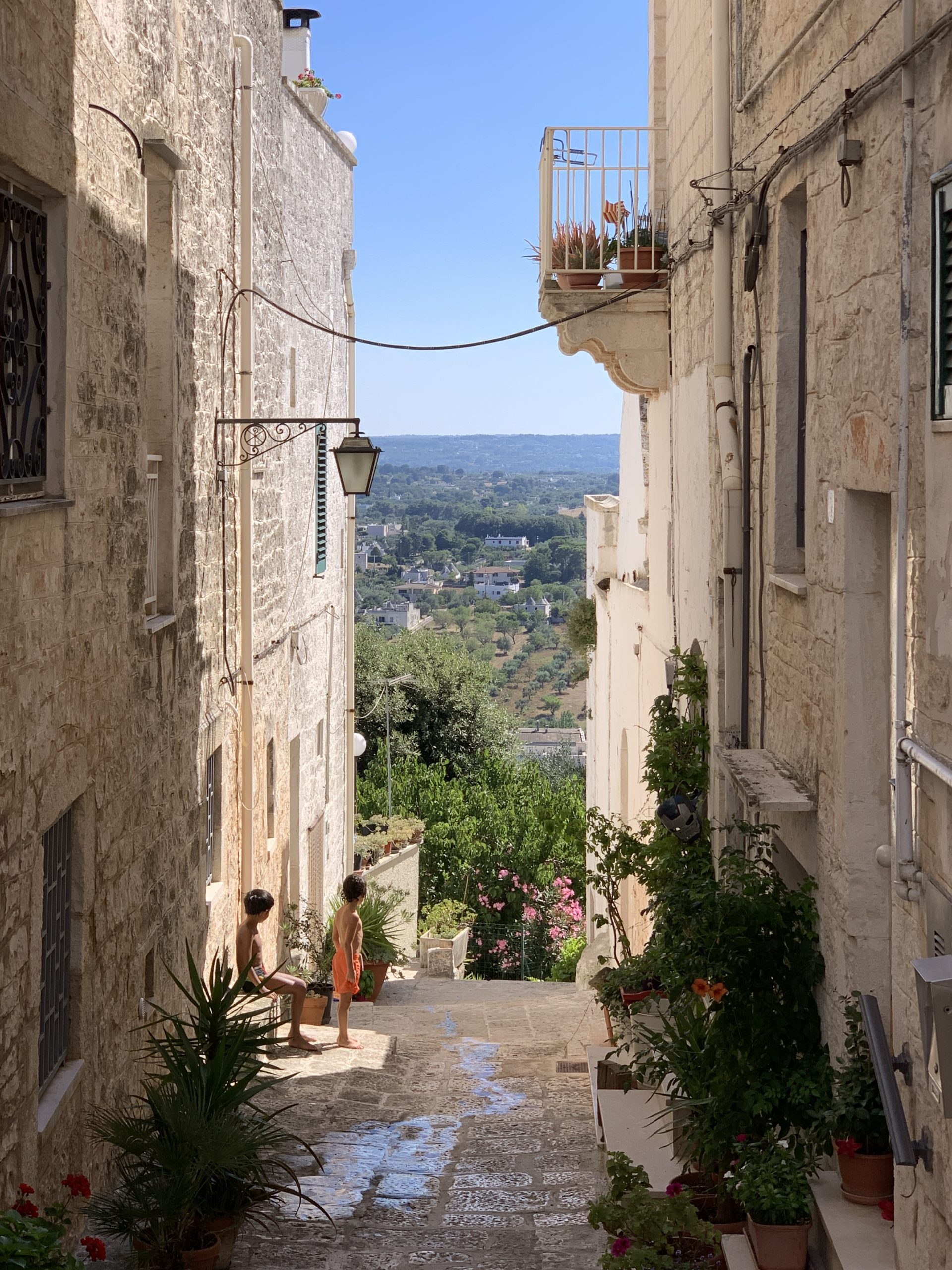 Locorotondo in Puglia is one of the Itria Valley's most beautiful towns and officially one of the most beautiful in Italy