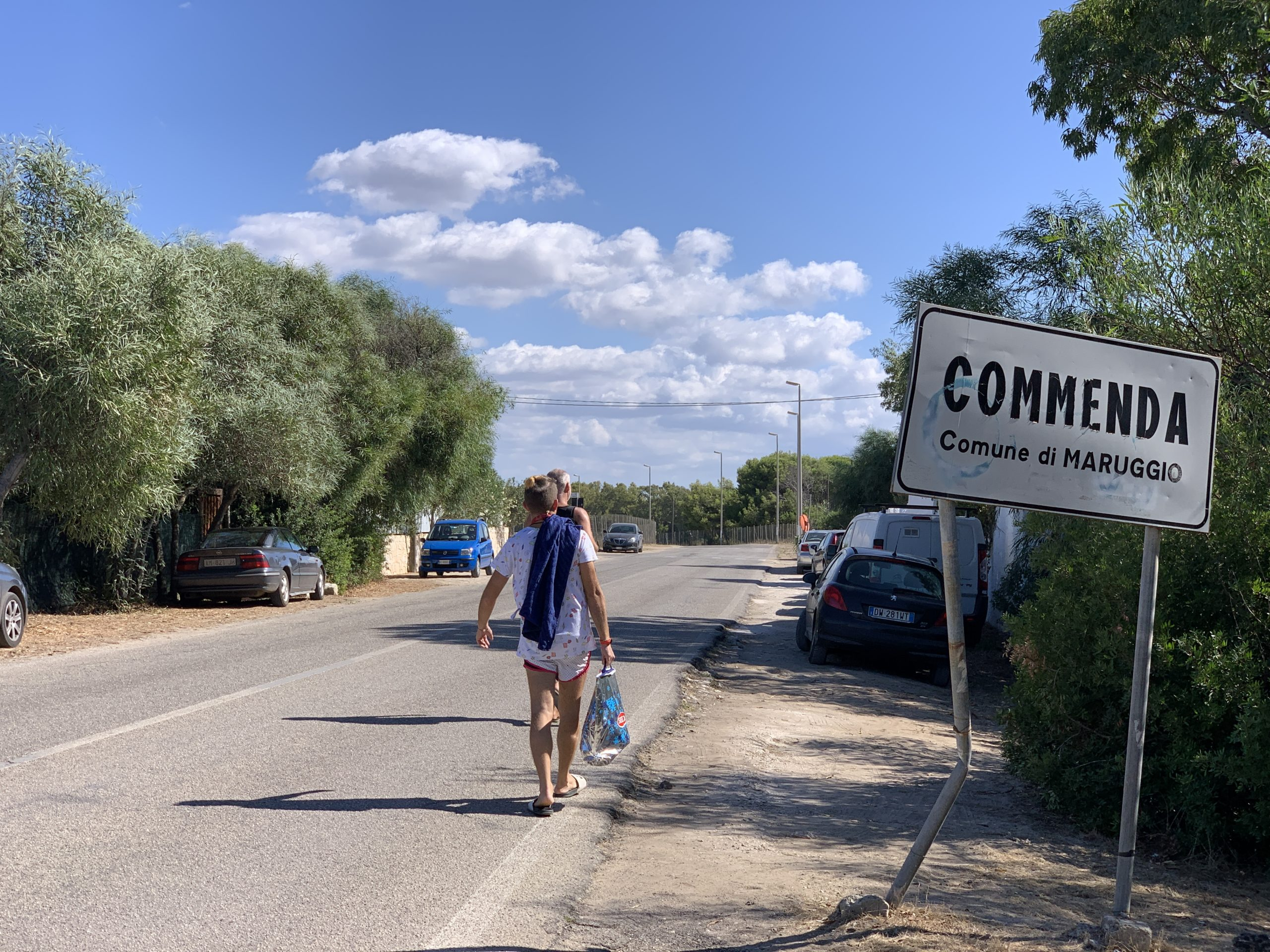 How to get to Puglia's top and best bay beach - d'Ayala beach, Commenda beach at Campomarino di Maruggio