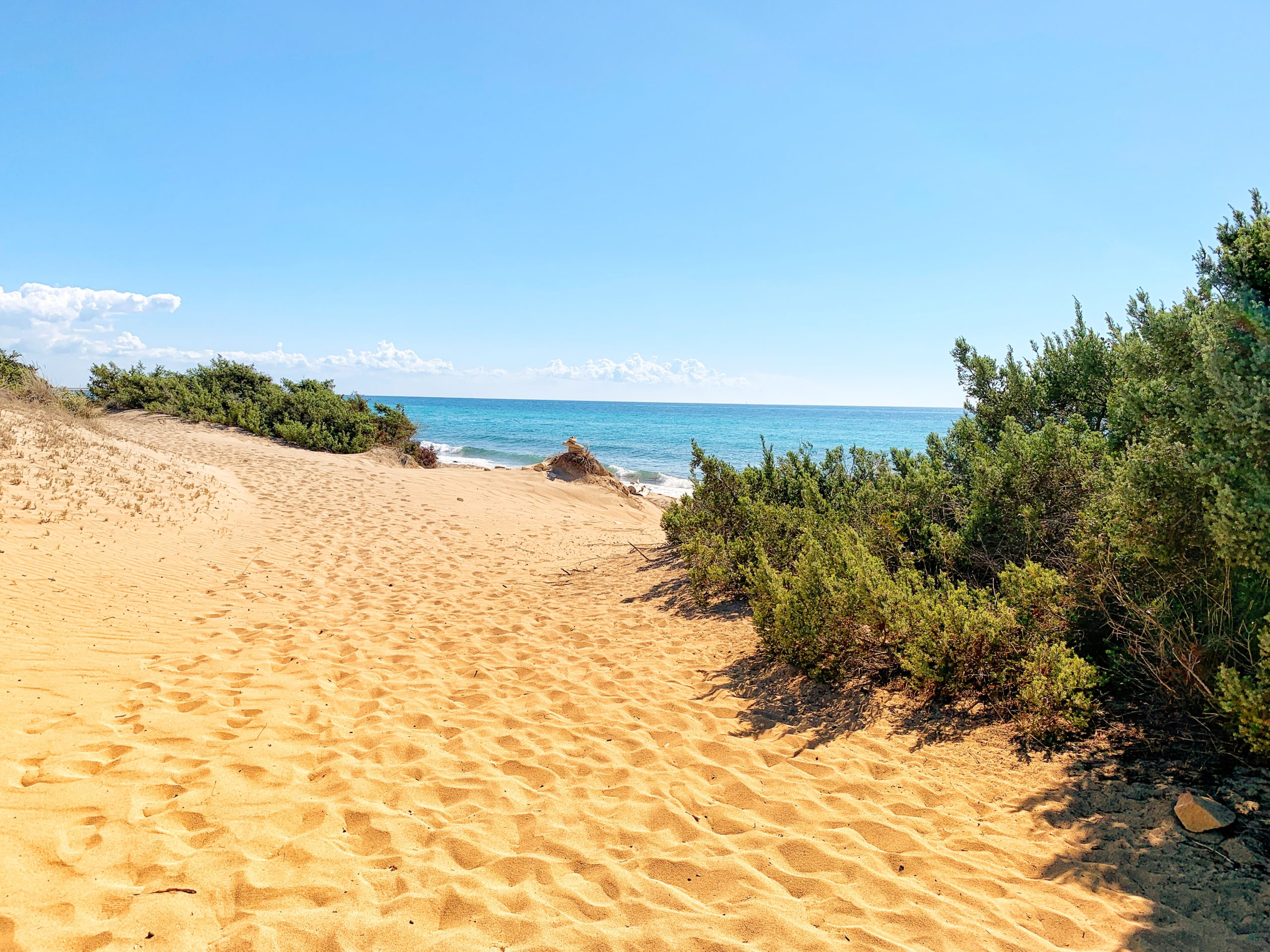 D'Ayala beach in Campomarino, Puglia's top gay beach