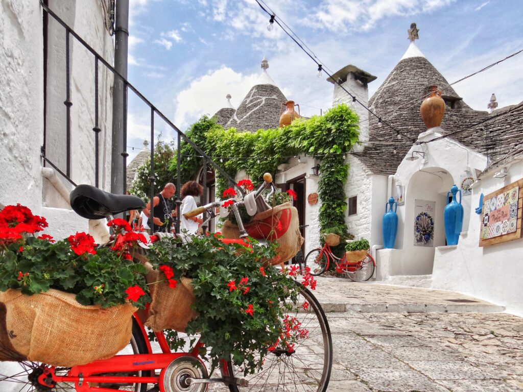 When is the best time to visit Alberobello in Puglia?
