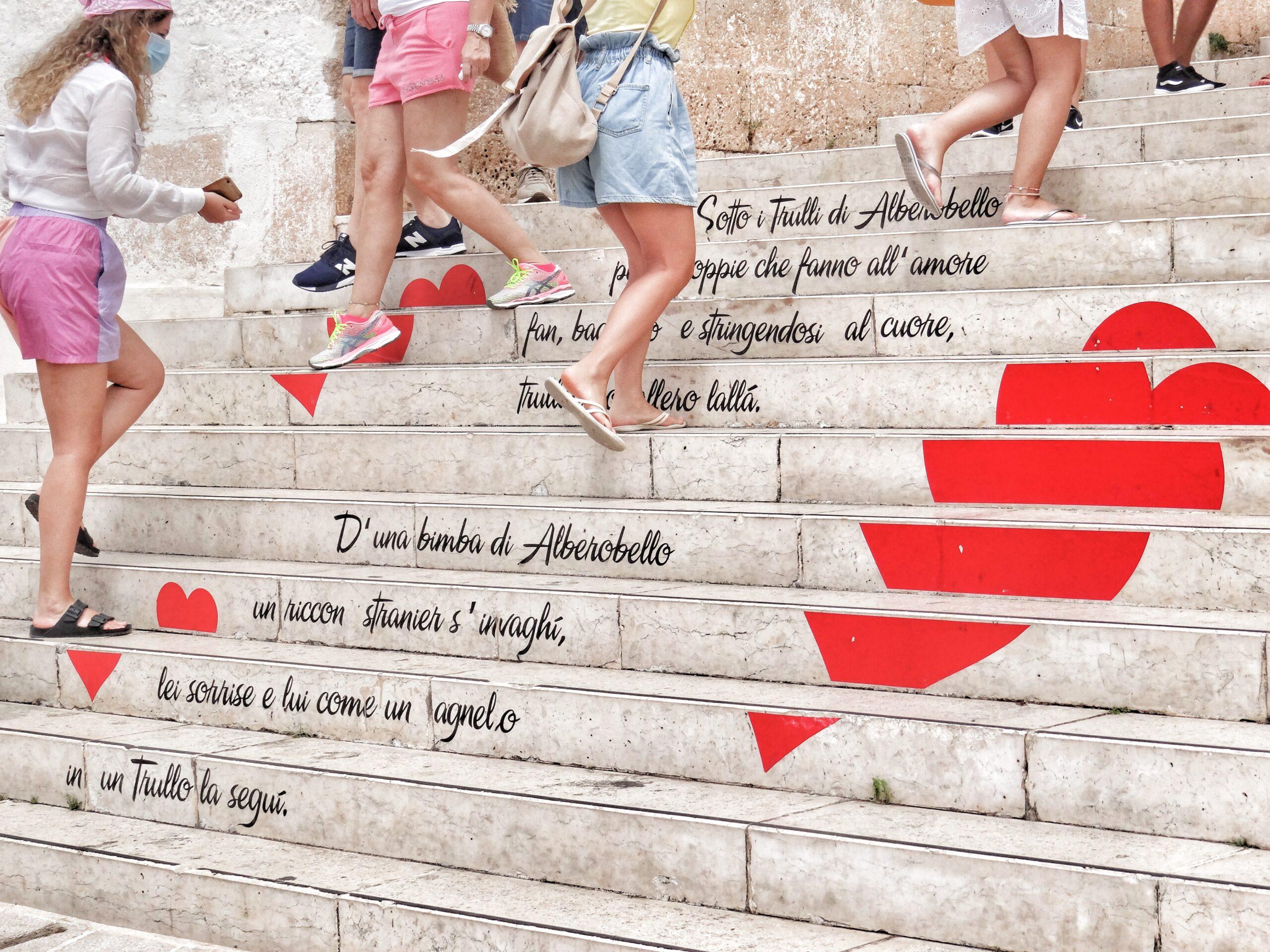 Alberobello is Puglia's most visited destination