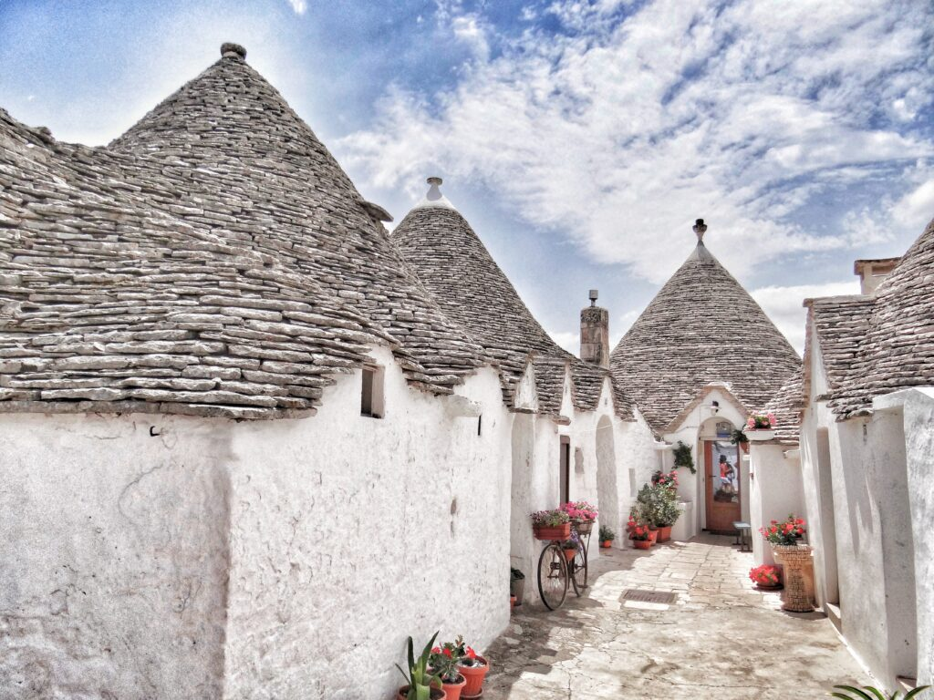Alberobello - trulli capital of Puglia.