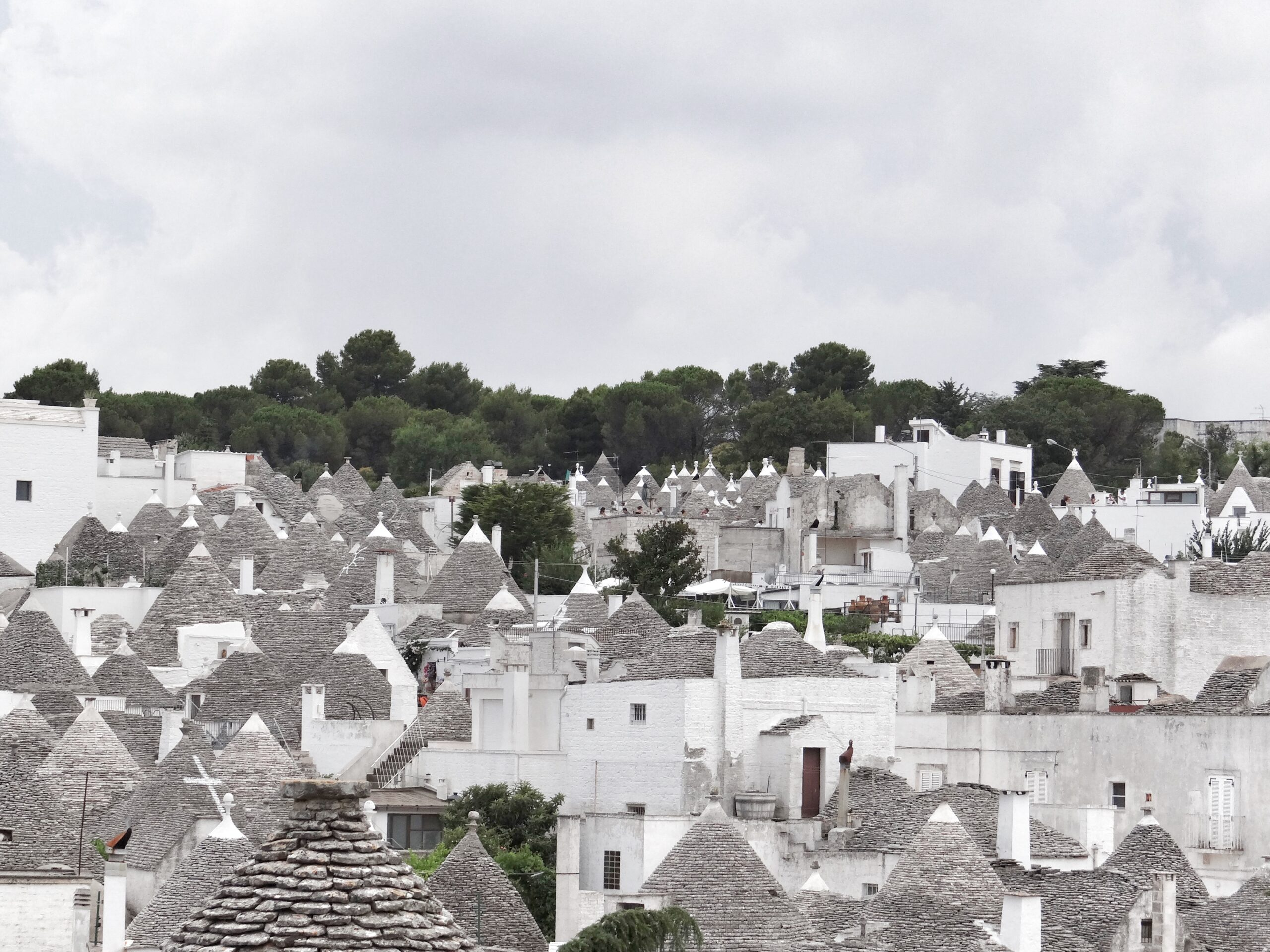 Where are the best trulli in Puglia - Alberobello is famous for these conical dwellings.