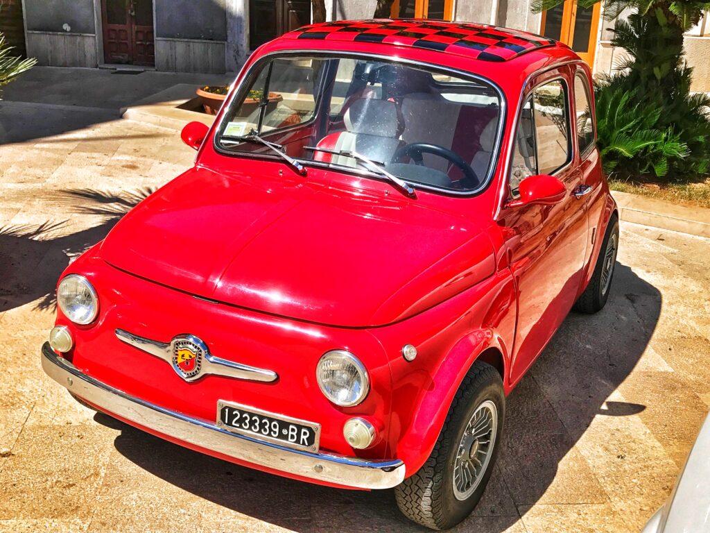 Driving in Puglia.