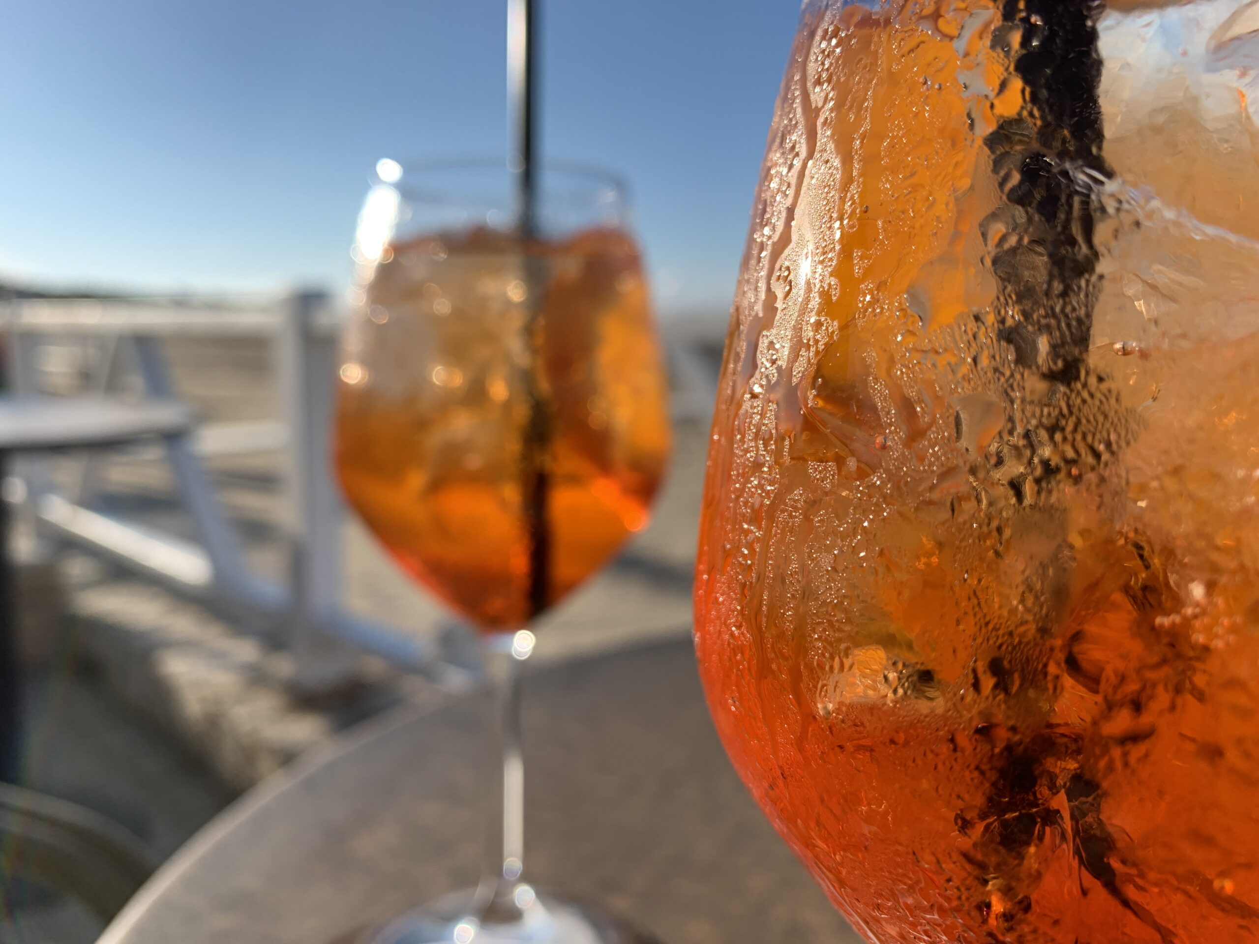 Aperol spritz - the Big Gay Podcast from Puglia gay travel guide favourite aperitivo