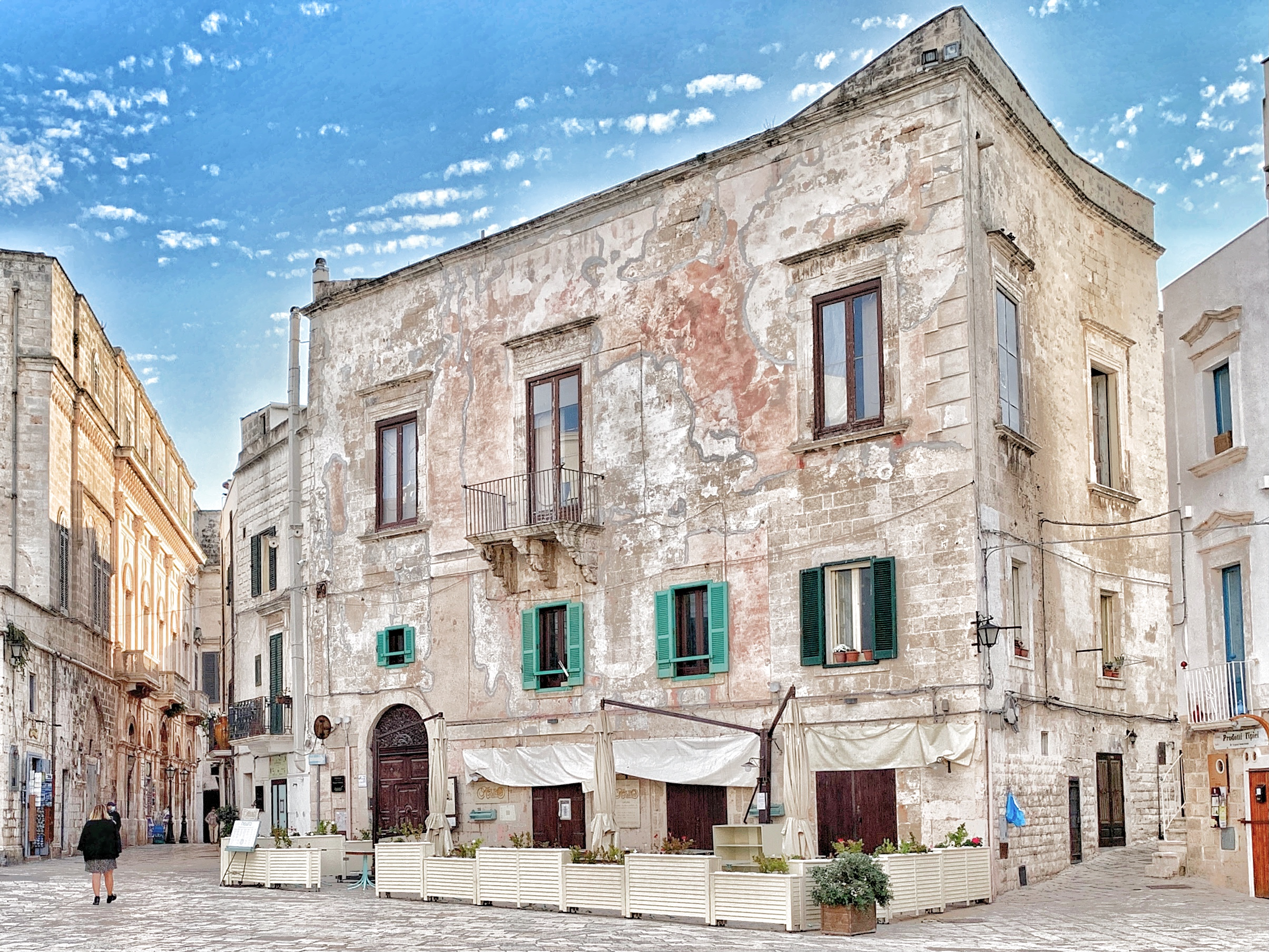 Polignano a Mare is one of the most famous places in Puglia