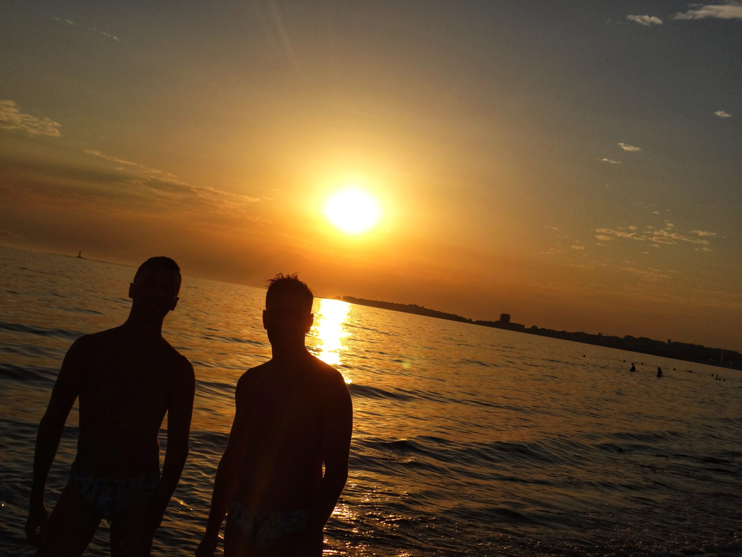 Gay Puglia - the Big Gay Podcast from Puglia. Serving up Puglia's finest food and destination recommendations. Sunset in Gallipoli.