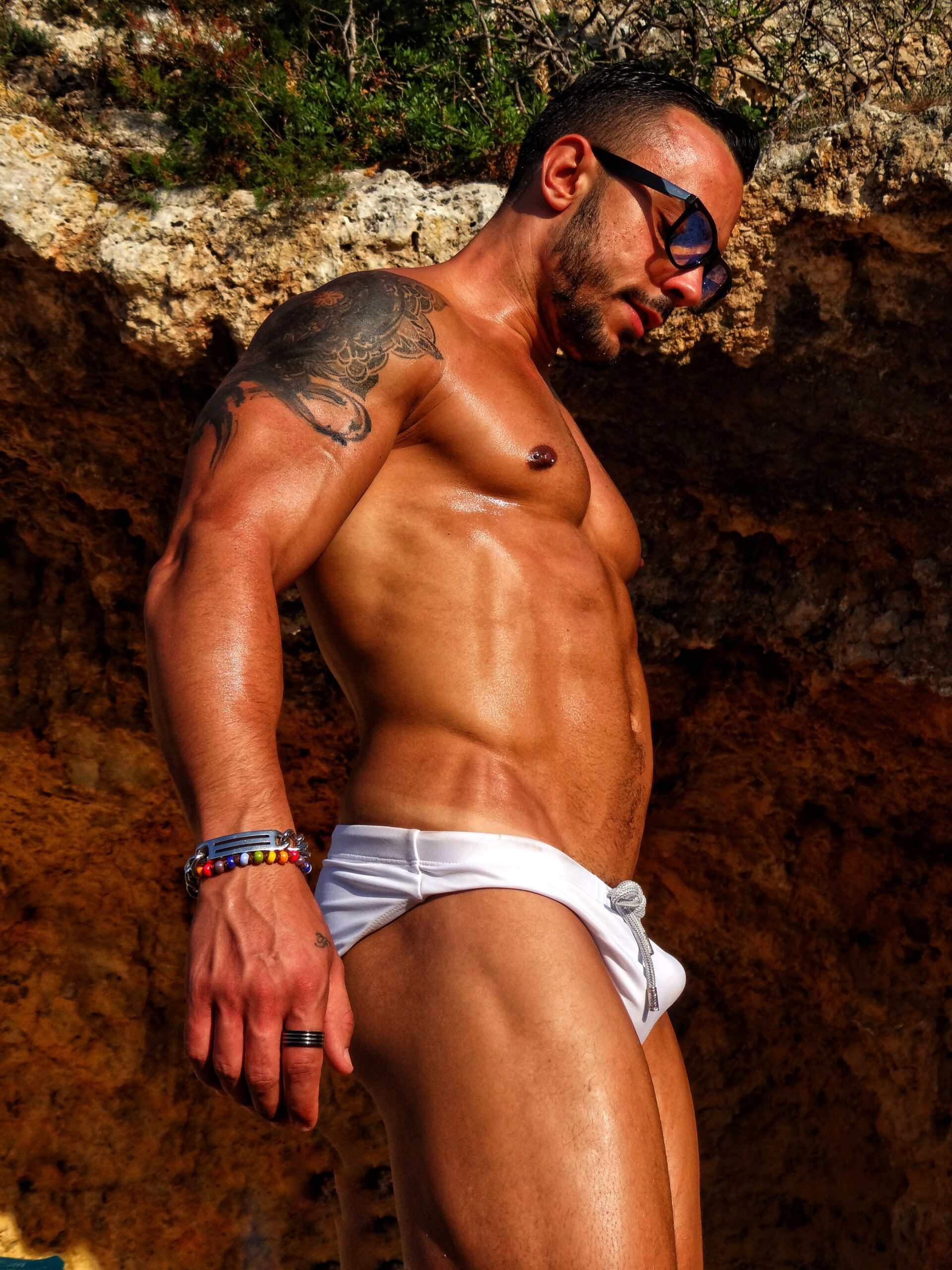 Torre Incina   Photo The Big Gay Podcast from Puglia the definitive guide to gay Puglia and its gay and nudist beaches.