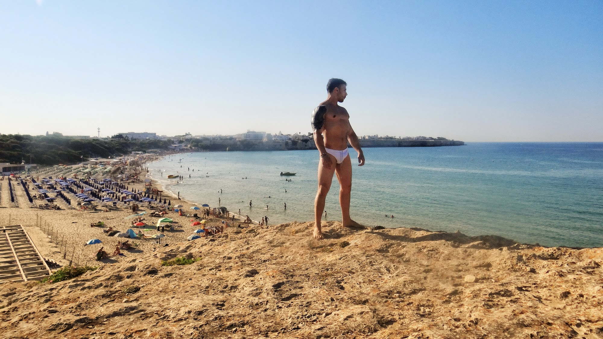 The Big Gay Podcast from Puglia - the definitive guide to gay Puglia and Puglia gay beach and Puglia nude beach destinations.