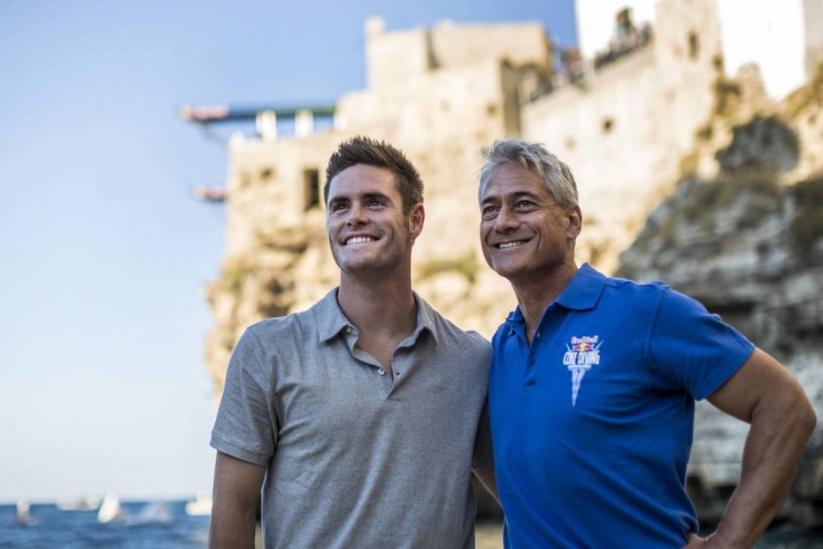Greg Louganis Polignano a Mare Red Bull World Series Diving